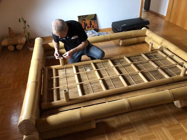 """martin egloff09 - Projekt """"Freiraum"""" am Hochrhein: Martin Egloff, der Bambus-Meister"""