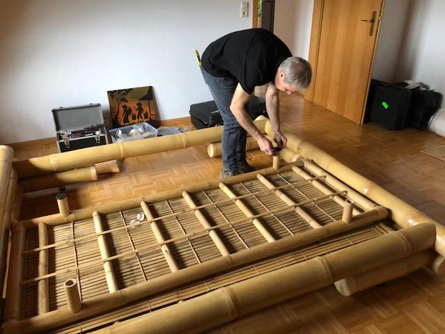 """martin egloff10 - Projekt """"Freiraum"""" am Hochrhein: Martin Egloff, der Bambus-Meister"""