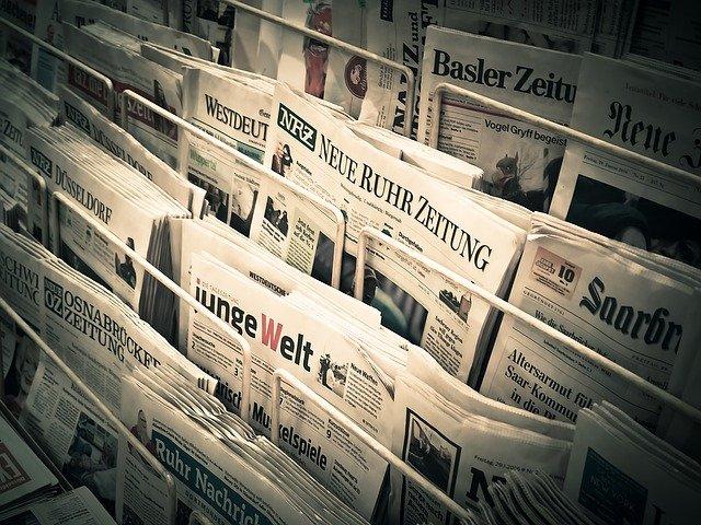newspaper - Die NZZ zum Ende der Amtszeit von Angela Merkel