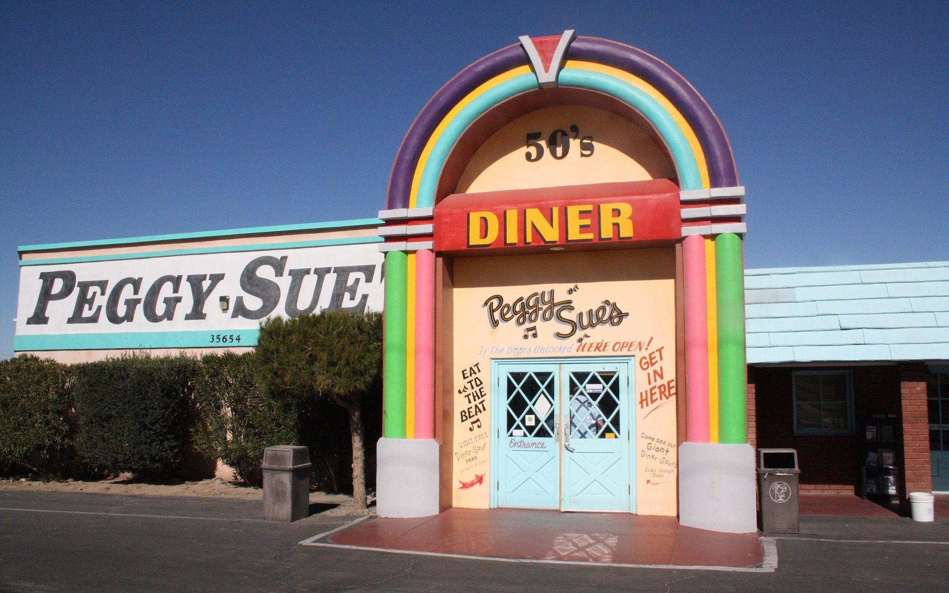 Peggy Sue Diner Barstow Kalifornien