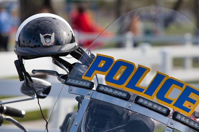 polizei motorrad - USA: Begegnung mit Police Officer Stefanie in Oregon