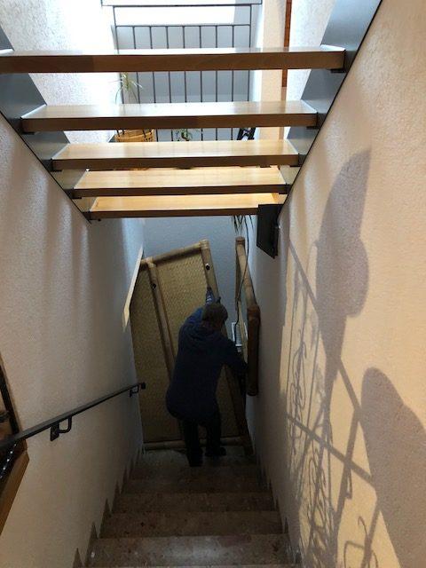 """schrank02 e1541238956476 - Projekt """"Freiraum"""" am Hochrhein: Der Bambusschrank passt nicht durch die Tür"""