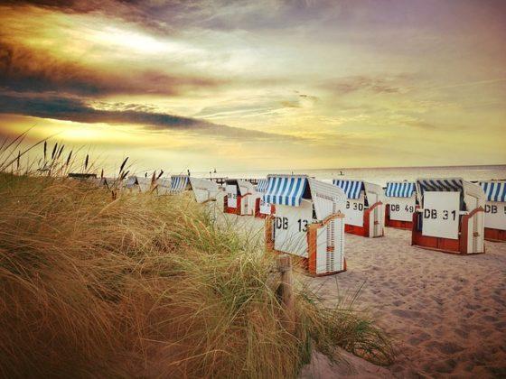 strandkorb 640 560x420 - Ostsee, Deutschland: Scharbeutz und Haffkrug für Tagesbesucher abgeriegelt