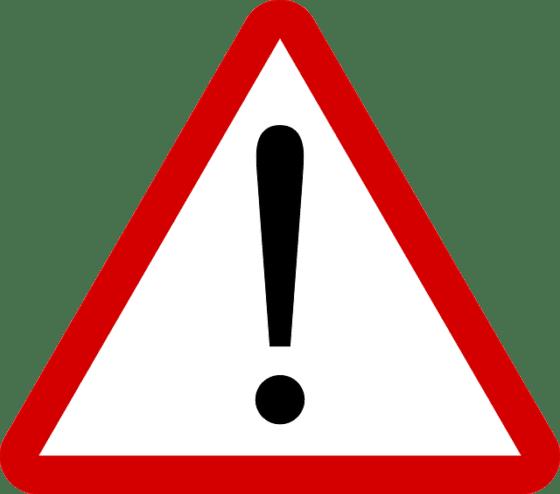 warning 640 560x494 - traveLink: Keine RSS-Abos mehr für Medien, die Adblocker blocken